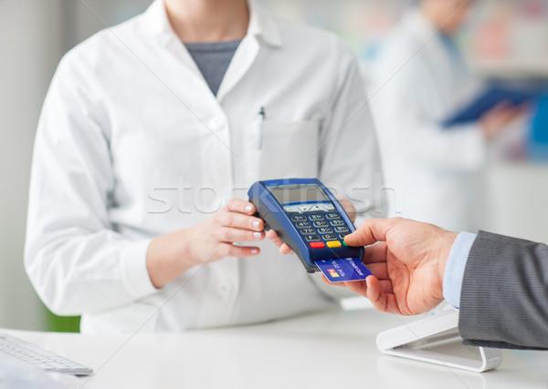 Man shopping at the drugstore Stock photo © stokkete