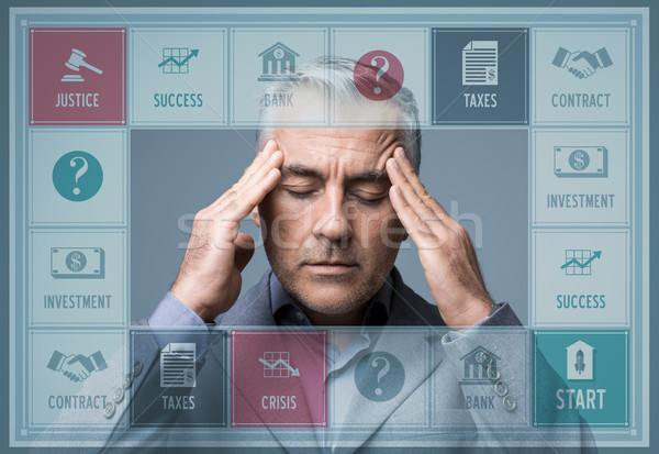 Business game Stock photo © stokkete