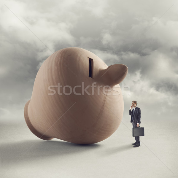 Financial forecasting and planning Stock photo © stokkete