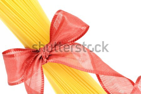 spaghetti, italian pasta: similar picture on my portfolio Stock photo © stokkete