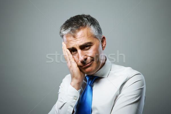 несчастный бизнесмен портрет человека деловой человек Сток-фото © stokkete