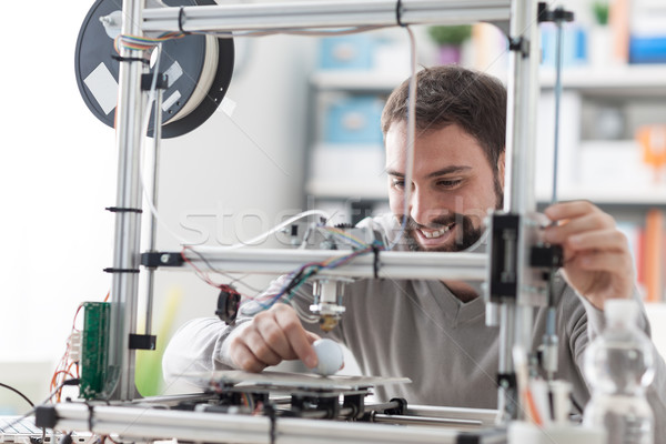 3D printing in the laboratory Stock photo © stokkete
