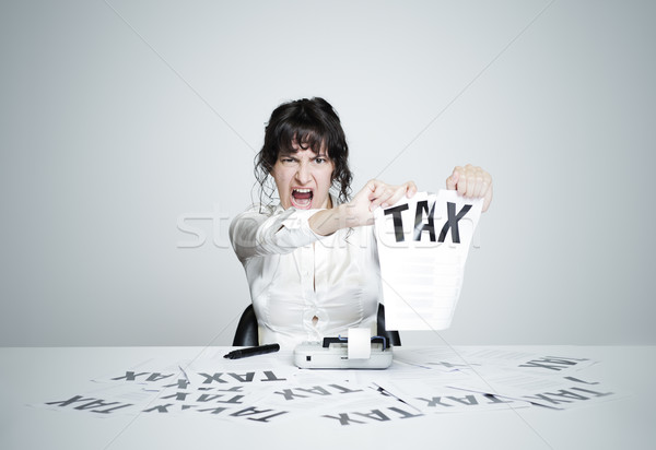 No tax! Stock photo © stokkete