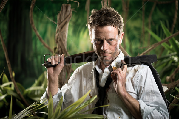 Surviving business jungle Stock photo © stokkete