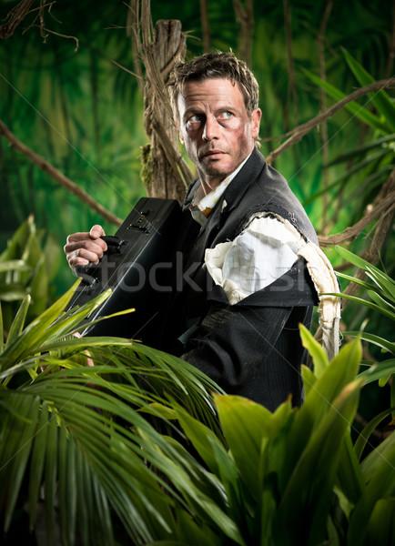 Surviving business jungle Stock photo © stokkete
