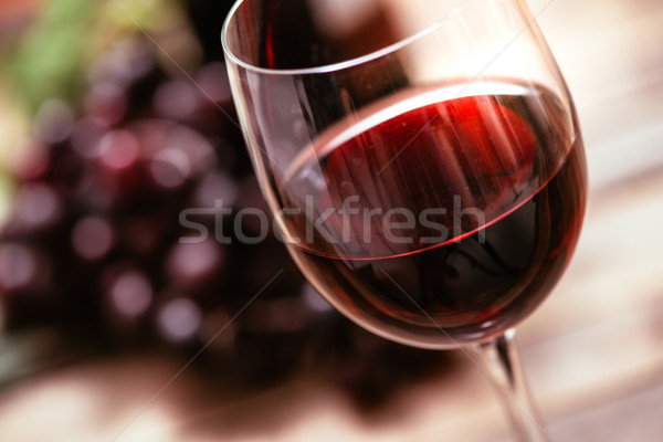Red wine tasting Stock photo © stokkete