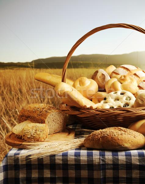 bread basket Stock photo © stokkete