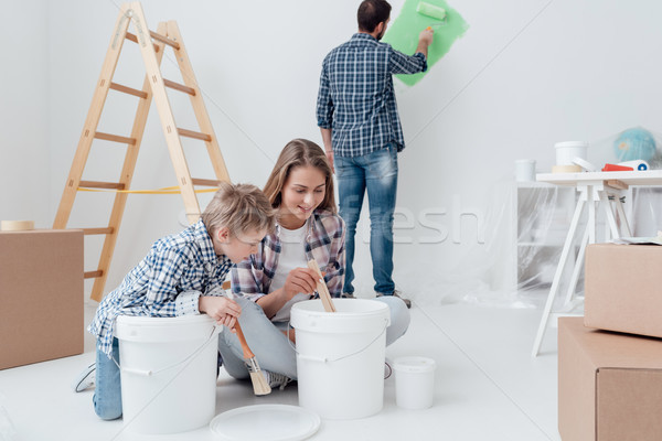 Stock photo: Home improvement and renewal
