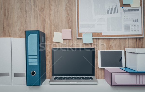 Business workspace Stock photo © stokkete