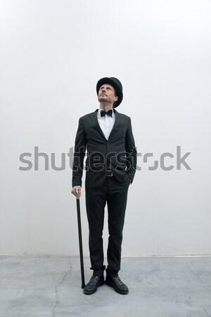 Classy gentleman Stock photo © stokkete
