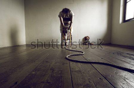 Woman prisoner Stock photo © stokkete