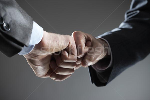 Business teamwork Stock photo © stokkete