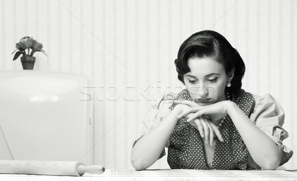 housewife sad Stock photo © stokkete