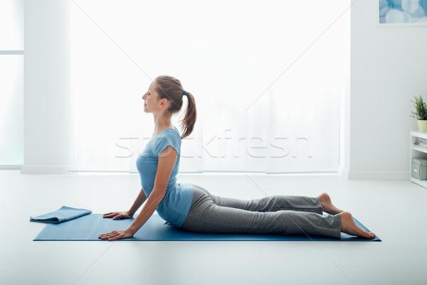 Yoga pose Stock photo © stokkete