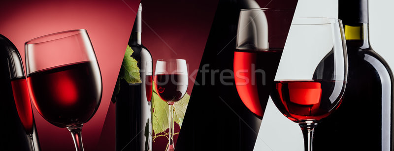 Excellent red wine Stock photo © stokkete