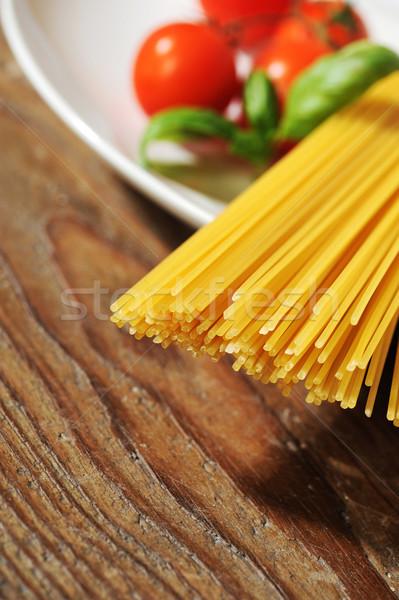 Italiana pasta ingredienti mediterraneo dieta texture Foto d'archivio © stokkete