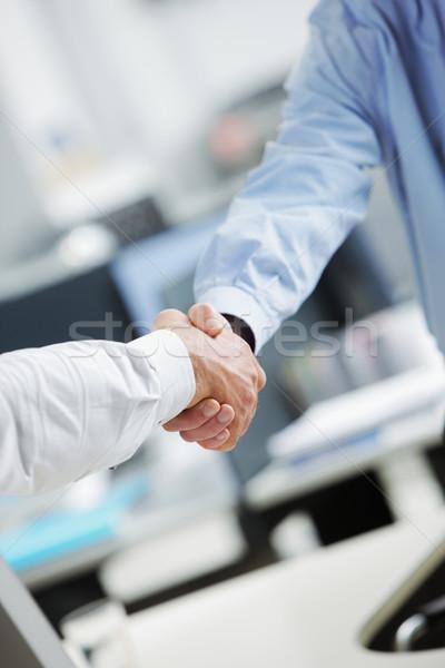 Businessmen shaking hands Stock photo © stokkete