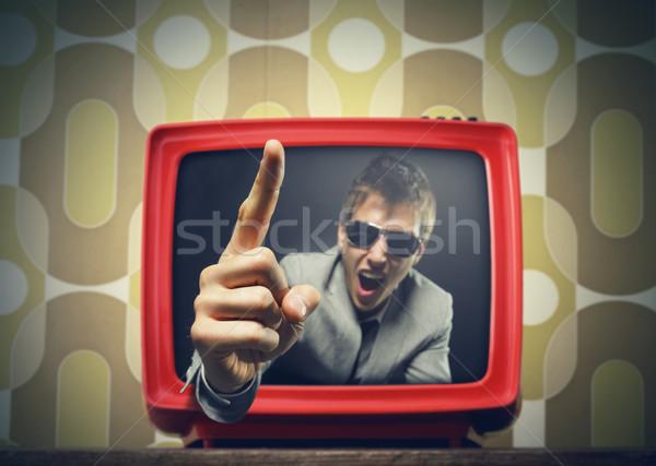 Trash Tv Stock photo © stokkete