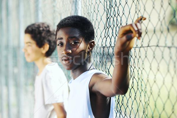 African boys Stock photo © stokkete