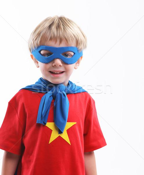 Little Superhero Stock photo © stokkete