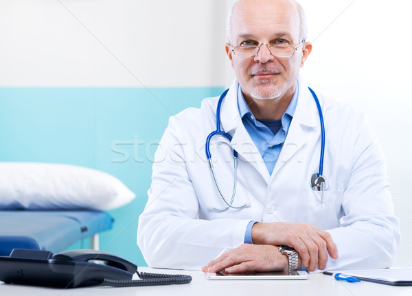 Doctor at work Stock photo © stokkete