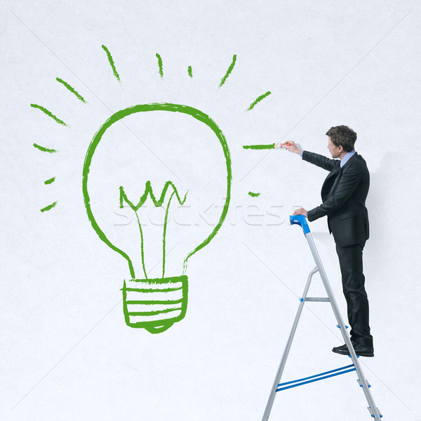 Innovation and environmental protection Stock photo © stokkete