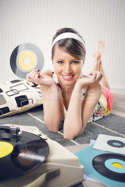 Vintage music Stock photo © stokkete