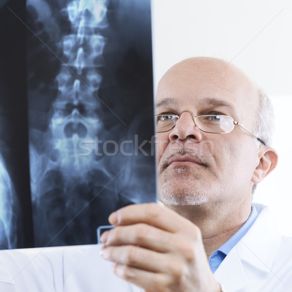Radiologist at work Stock photo © stokkete