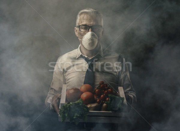 Food pollution and contamination Stock photo © stokkete