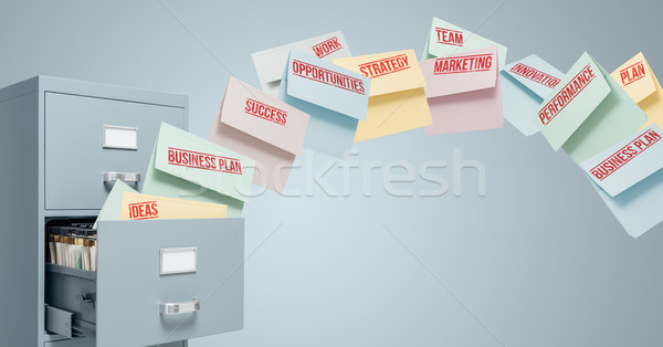 Business strategy Stock photo © stokkete