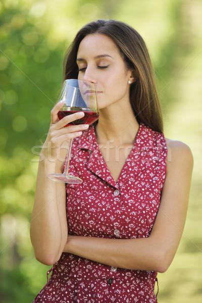 Red wine Stock photo © stokkete