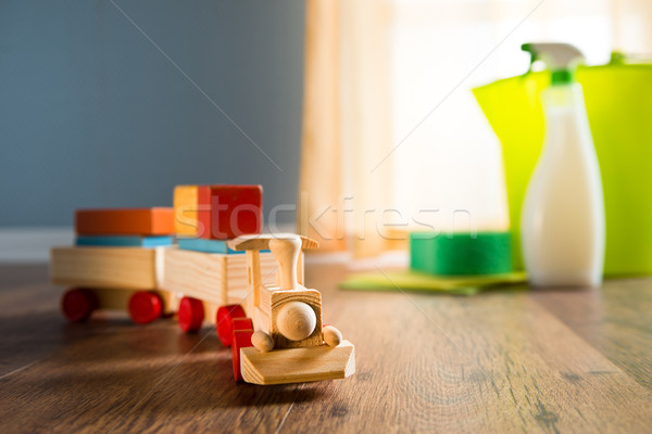 Safe cleaning products Stock photo © stokkete
