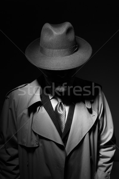 Noir movie character Stock photo © stokkete