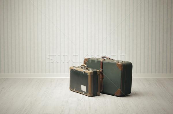 vintage luggage Stock photo © stokkete