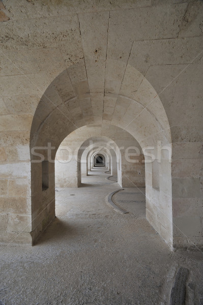 Architectures ancient stone in Minorca Stock photo © stokkete