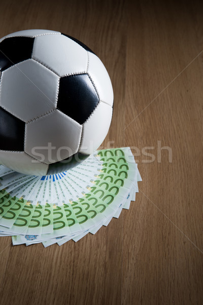 Soccer and wealth Stock photo © stokkete