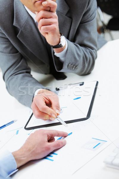 ビジネスの方々  会議 ビジネス 同僚 ストックフォト © stokkete