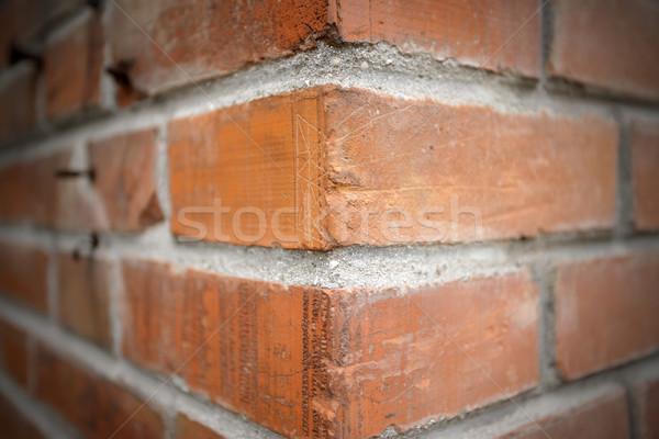 Brick Corner Stock photo © stokkete