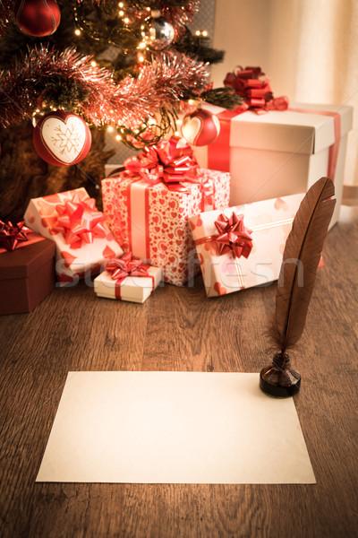 Writing to Santa Claus Stock photo © stokkete