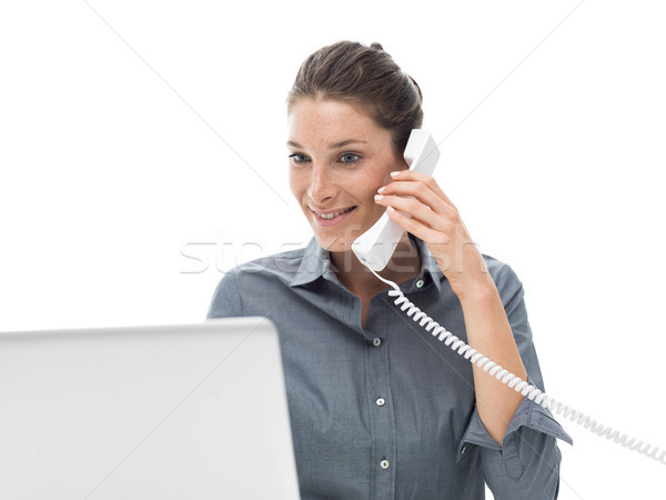 Customer service operator Stock photo © stokkete