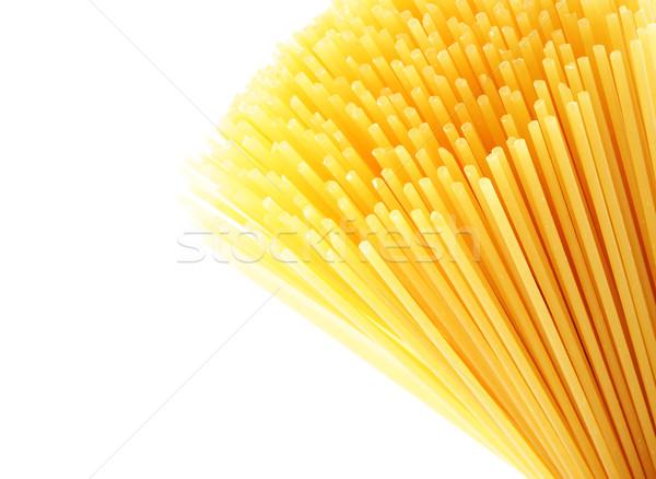 Middellandse zee dieet Italiaans pasta spaghetti textuur Stockfoto © stokkete