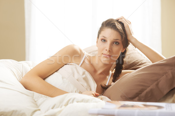 Stock photo: Waking up peacefully