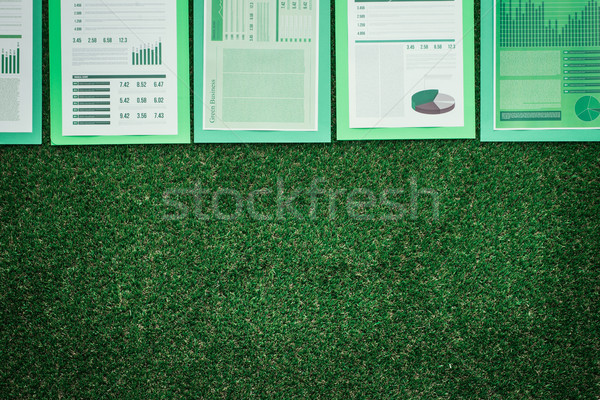 Financial reports Stock photo © stokkete