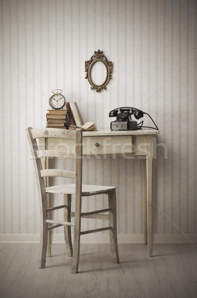Vintage interior Stock photo © stokkete