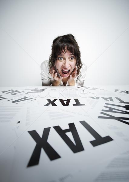 Taxes scary Stock photo © stokkete