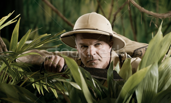 Surviving in the jungle Stock photo © stokkete