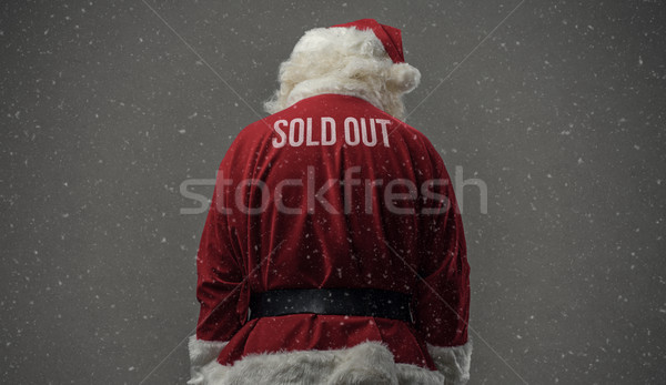 Sold out Santa Stock photo © stokkete
