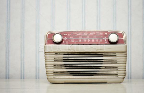 Old radio Stock photo © stokkete