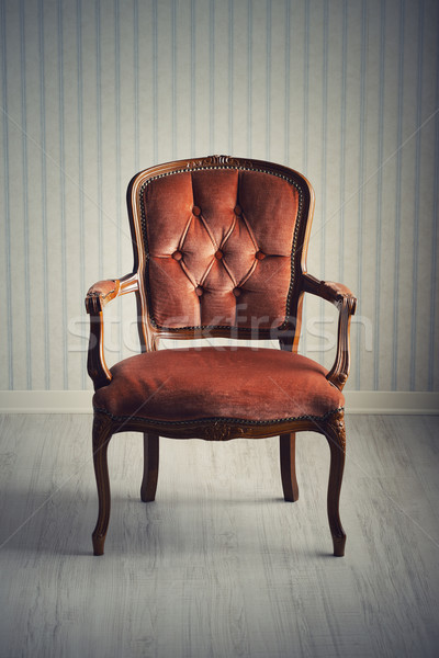 baroque armchair Stock photo © stokkete