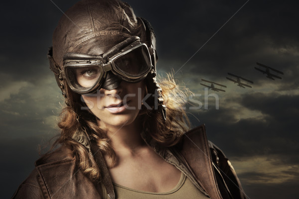Woman Hero Stock photo © stokkete